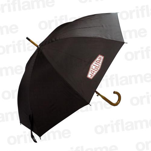 傘・ジャガー・ウッドグリップ・ブラック