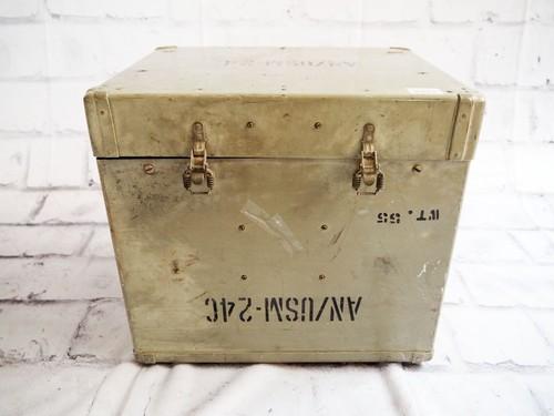 品番4651 軍箱 軍ボックス ミリタリー 米軍放出品 ヴィンテージ
