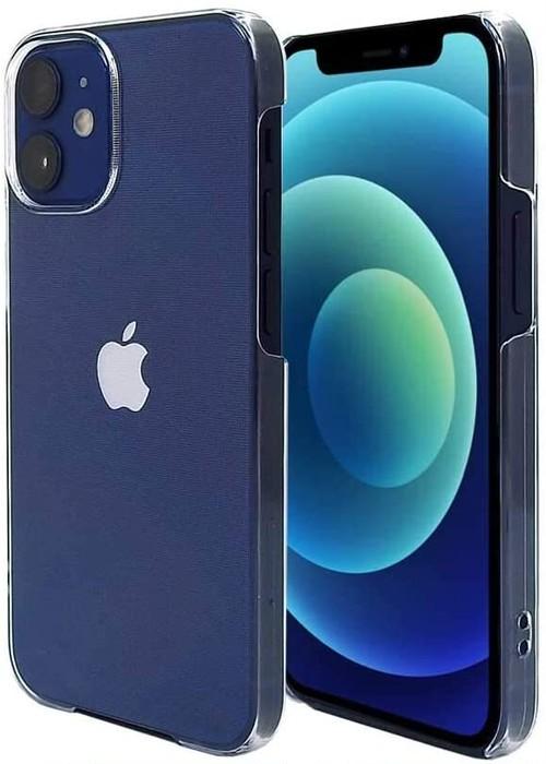 iPhone12 mini 5.4インチ スマホケース クリア カバー  ハード ポリカーボネート ストラップホール付 【Provare】