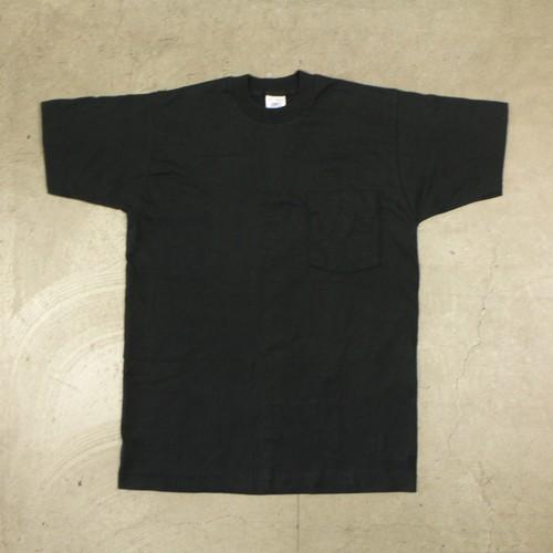 80-90's USA製 BVD Pocket T-Shirt Black