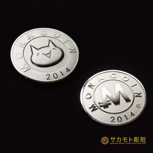 純銀モナコイン / Silver 1000 Monacoin