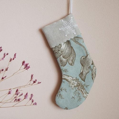 刺繍のキット クリスマスストッキング