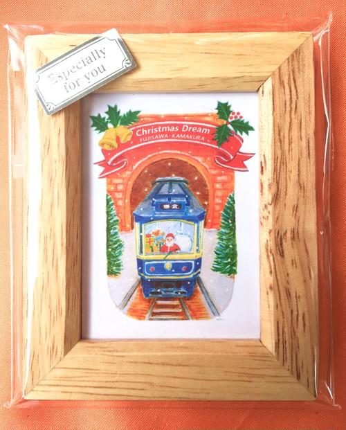 ミニ額(クリスマスドーム)