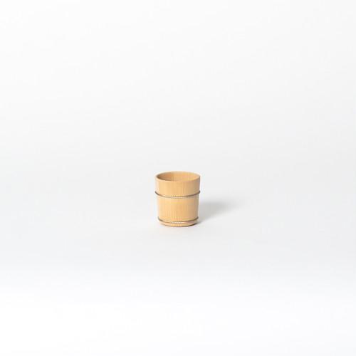 中川木工芸 椹ぐい飲み中