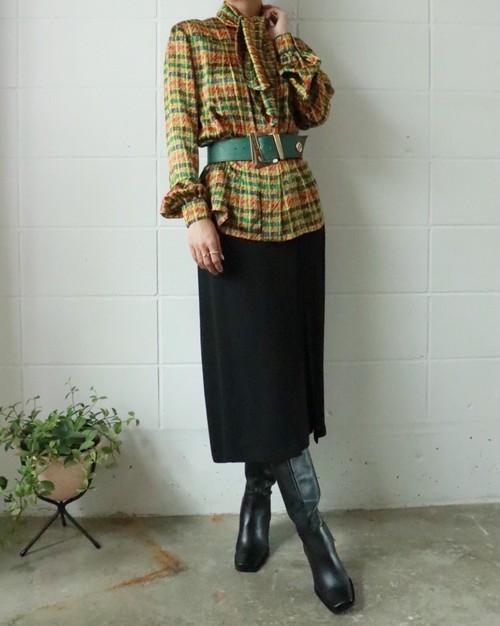 Maxmara black long skirt