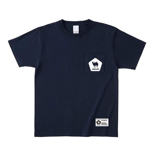 Jamal ポケットTシャツ ネイビー