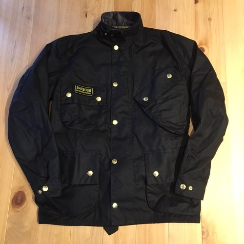"Barbour ""INTERNATIONAL""(BLACK)"