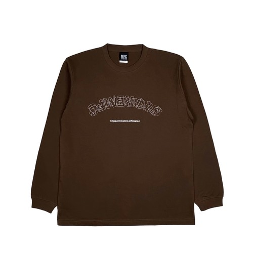 MFC STORE OL STACK L/S TEE / BROWN