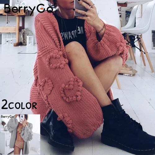 【FlamingoBeach】Heart knit ニット 67124