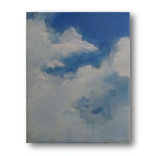 【絵画 油彩】『Sky』 F6号 購入後すぐに飾れる