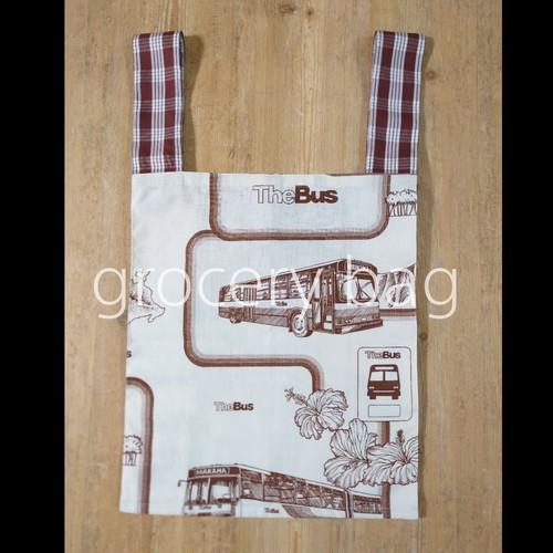 受注制作 Grocery Bag(The Bus ×Palaka)