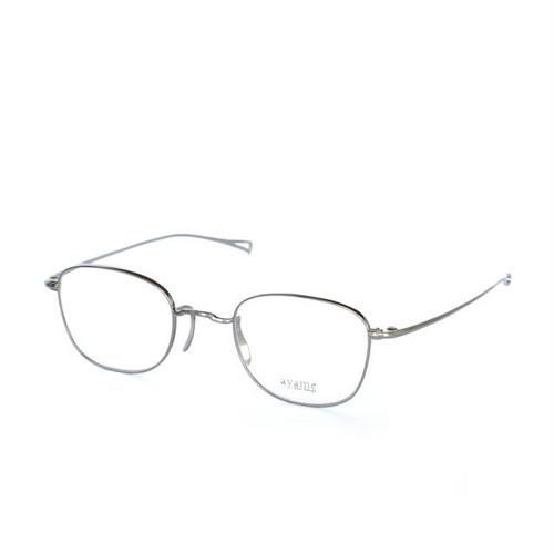 ayame:アヤメ 《GMS -ジー・エム・エス col.Silver》  眼鏡 ウエリントン