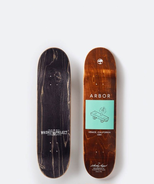 【Arbor Skateboard】WHISKEY PROJECT TEAM 8.0 DECK