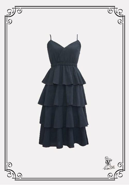 【完売御礼】Ruffle Cami Dress / フリルキャミワンピース