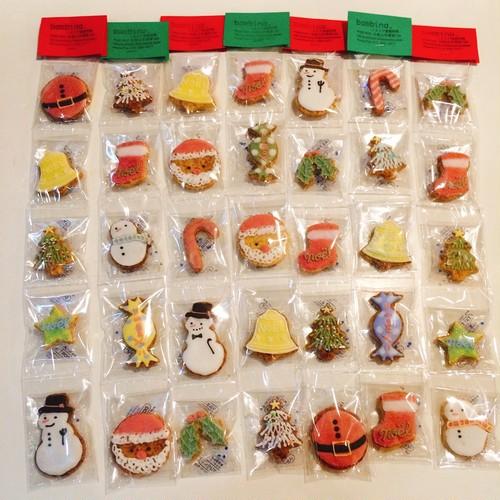 Christmas 5連アイシングクッキー