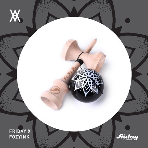 friday x frozyink コラボ けん玉