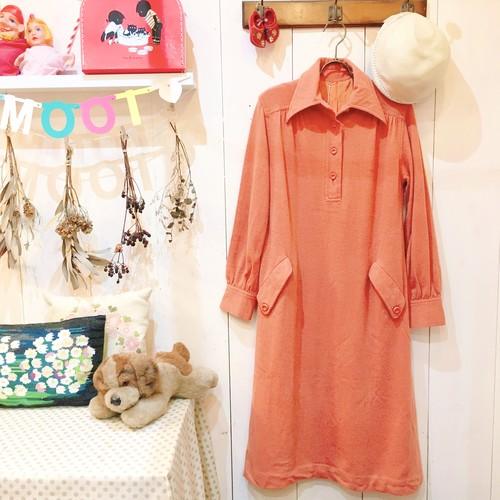 Vintage Dress / Orange