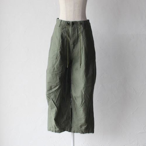【Needles】H.D.pant fatigue-khaki