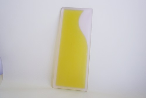 jewelry tray / pink x yellowgreen