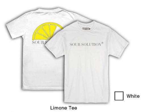 SOUR SOLUTION LIMONE S/S TEE WHITE サイズS