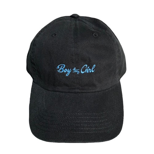 Basic Logo Cap(black×blue)