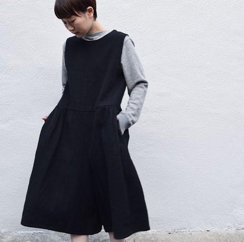 【ordinary fits】OL-P058W / BOCO WOOL BLACK