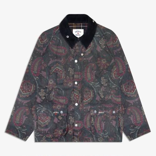 Barbour x Noah Paisley Bedale Waxed Cotton Jacket