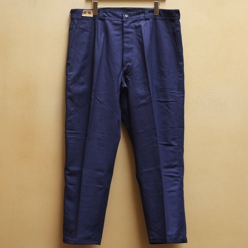 OLD FRENCH NAVY × St JAMES COTTON PANTS DEAD STOCK - 3