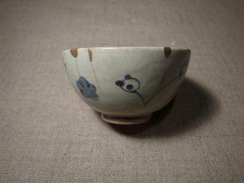 くわらんか染付茶碗