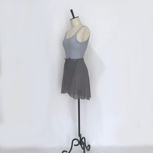 "❖""Fiorina"" Ballet Wrap Skirt - Shadow Gray [Sheer]( シャドウ・グレイ [シアー])"