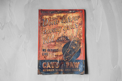 CAT'S PAW SIGNBOARD