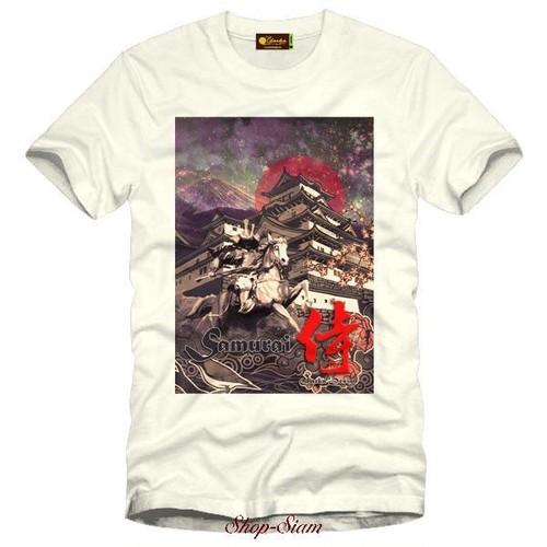 Samurai Art Printing T-Shirts