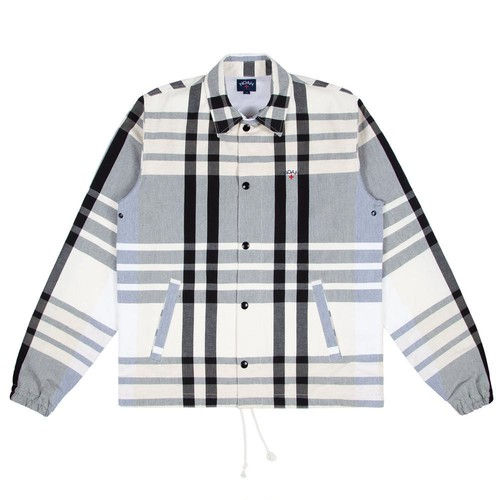 Madras Campus Jacket(Black/White)