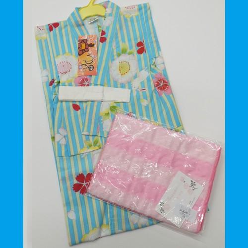 子供用浴衣・兵児帯 セット