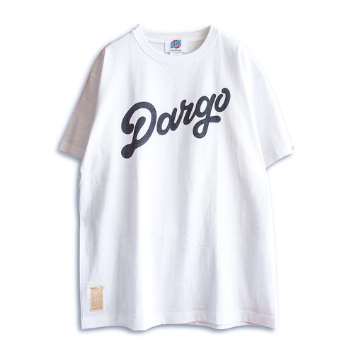 "【DARGO】""DARGO Logo"" T-shirt (WHITE)"