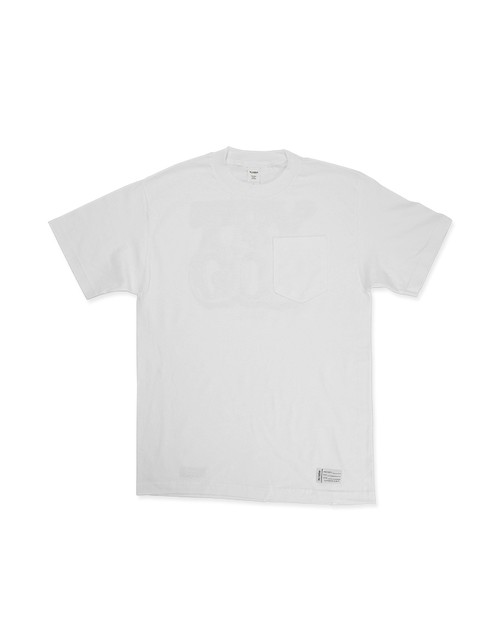 Trust No One Pocket Tee / WHITE