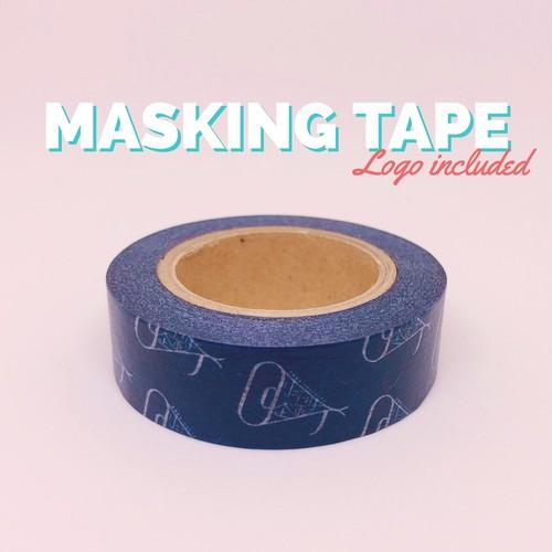 ロゴマスキングテープ