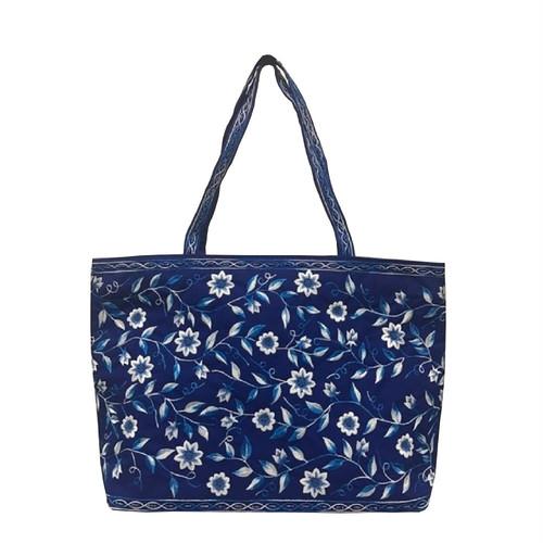 ベトナムバッグ 両面刺繍 ビーズ トートバッグ 肩掛け 鞄 ベトナム雑貨