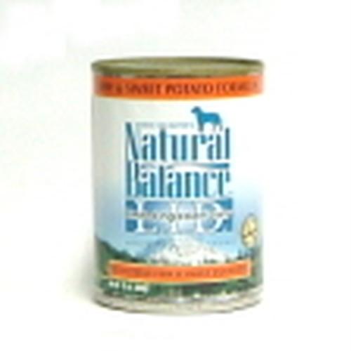 ナチュラルバランス缶 フィッシュ&スウィートポテトフォーミュラ369g×24缶