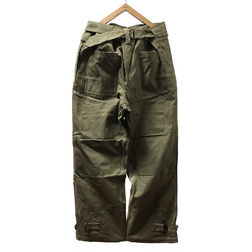 """[DEADSTOCK] 40's """"FRENCH ARMY"""" MOTORCYCLE PANTS"""