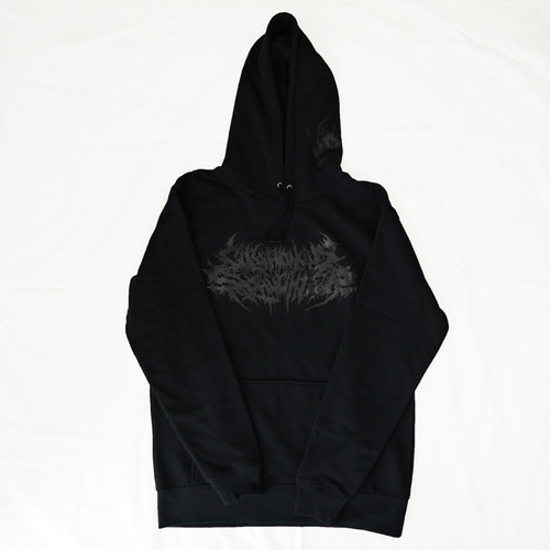 Gluttonous Slaughter Logo Hoodie Black