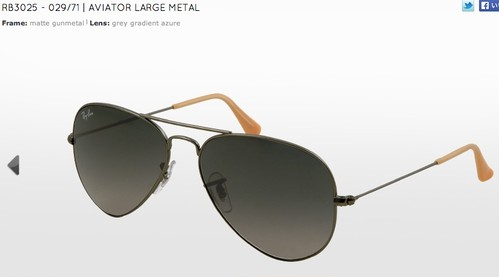 RB3025/AVIATOR LARGE METAL (アビエイター)