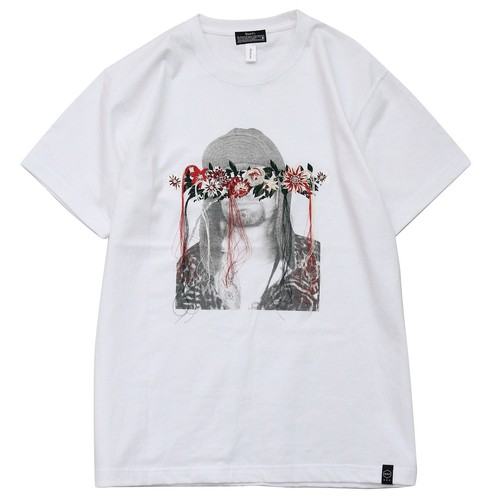 QUOLT / クオルト  【SALE!!】EMBROIDERY TEE - WHITE