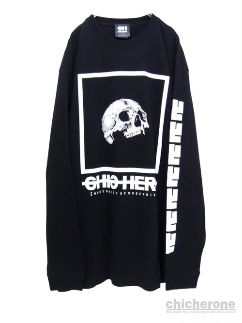 【CHIC HERO】CRANIUM  -Long Sleeve- BLACK