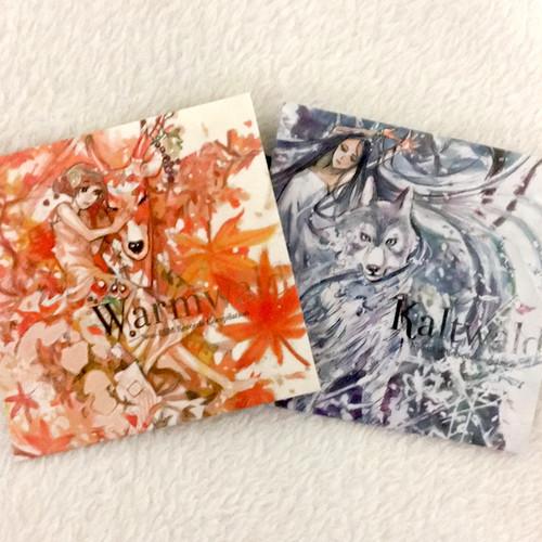 [ CD2枚組 & ポストカードセット] Warmwald & Kaltwald / V.A.