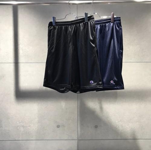 USA CHAMPION Mesh Shorts / BLACK