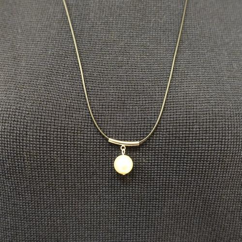 20596  オリジナルネックレス/ホワイト