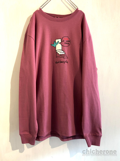 【MARK GONZALES】SLAMED THE DOOR WINE