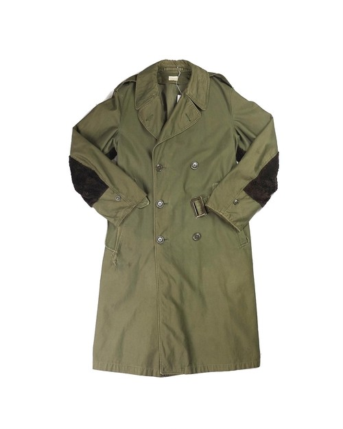 remake military trench coat
