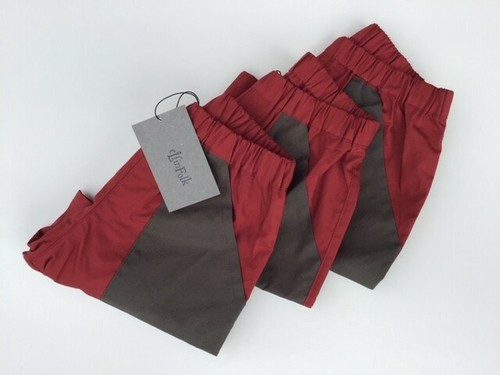 eLfinFolk エルフィンフォルク typewriter shorts/burgundy size:90